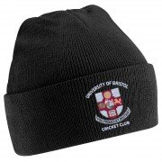 University of Bristol CC Black Beanie