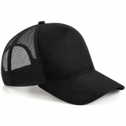 Swansea University CC Black Trucker Hat
