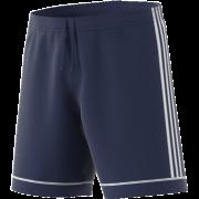 Burnley CC Adidas Navy Junior Training Shorts