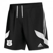 Clayton West CC Adidas Black Junior Training Shorts