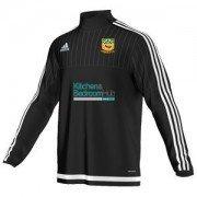 Cheadle CC Adidas Black Junior Training Top
