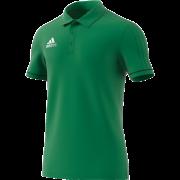 Llanarth CC Adidas Green Polo Shirt