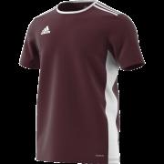 Luton Town & Indians CC Adidas Maroon Junior Training Jersey