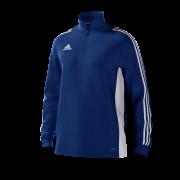 Tenbury United FC Adidas Blue Junior Training Top