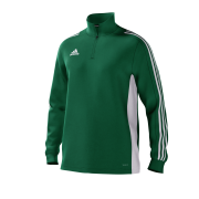 Hale Barns CC Adidas Green Junior Training Top
