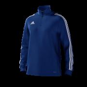 St Helens Town CC Adidas Navy Junior Training Top