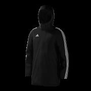 St George's University AFC Black Adidas Stadium Jacket