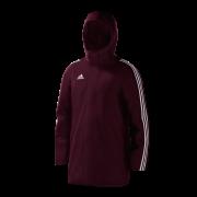 Thorncliffe Cricket Club Maroon Adidas Stadium Jacket