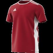 Strabane CC Adidas Red Training Jersey