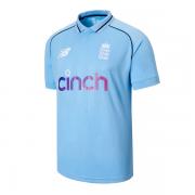 2021 New Balance England ODI Replica Junior Cricket Shirt