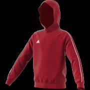Darcy Lever CC Adidas Red Junior Hoody