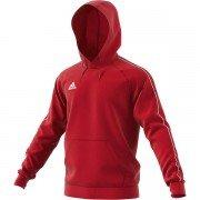 Adidas Core 18 Red Junior Hoody