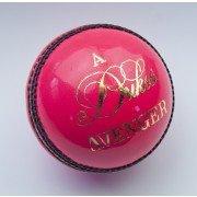 Dukes Avenger 'A' Pink Cricket Ball