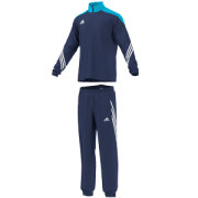Pinchbeck CC Adidas Navy Presentation Tracksuit