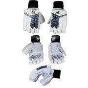 2021 Adidas Incurza 3.0 Acid Yellow Batting Gloves