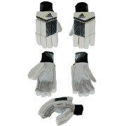 2021 Adidas Incurza 4.0 Acid Yellow Batting Gloves