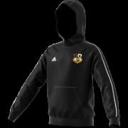 Grosmont CC Adidas Black Junior Fleece Hoody