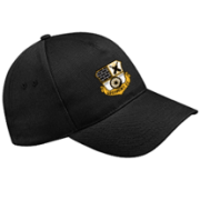 Grosmont CC Black Baseball Cap