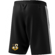 Grosmont CC Adidas Black Junior Training Shorts