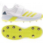 2021 Adidas Adipower Vector Cricket Shoes - Acid Yellow