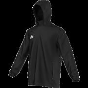 Fenwick CC Adidas Black Rain Jacket
