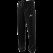 Loughborough Greenfields CC Adidas Black Sweat Pants