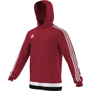 St George's University AFC Adidas Red Hoody