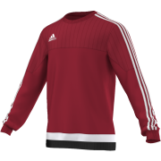 St George's University AFC Adidas Red Sweat Top