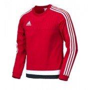 Adidas Tiro 15 Red Training Sweat Top