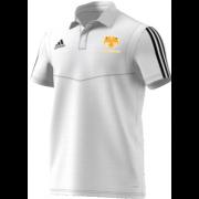 Moseley CC Adidas White Polo Shirt