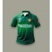 2019 Pakistan Cricket World Cup ODI Limited Edition Junior Cricket Shirt