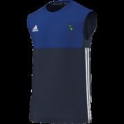 Buckden CC Adidas Navy Training Vest