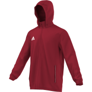 St George's University AFC Adidas Red Rain Jacket