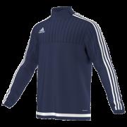 Samuel Whitbread Academy Adidas Navy Training Top