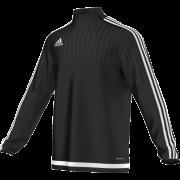 Welshpool CC Adidas Black Junior Training Top