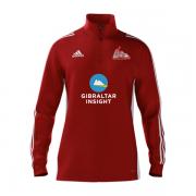 Gibraltar CC Adidas Red Training Top