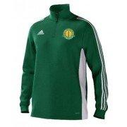 Checkley CC Adidas Green Training Top