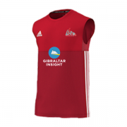 Gibraltar CC Adidas Red Training Vest