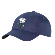 West Hallam White Rose CC Navy Baseball Cap