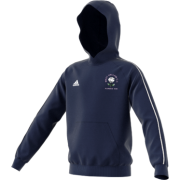 West Hallam White Rose CC Adidas Navy Junior Fleece Hoody