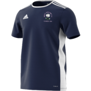 West Hallam White Rose CC Adidas Navy Junior Training Jersey