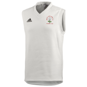 West Hallam White Rose CC Adidas Junior Playing Sweater