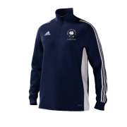 West Hallam White Rose CC Adidas Navy Junior Training Top