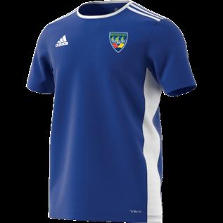 North West Warriors CC Adidas Blue Training Jersey