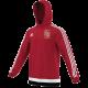 Methley CC Adidas Red Hoody