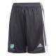 Uffington CC Adidas Black Training Shorts