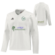 Hundhill Hall CC Adidas L/S Playing Sweater