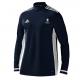 Marske CC Adidas Navy Zip Training Top