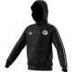 Hooton Pagnell CC Adidas Black Junior Hoody