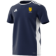 Eynsham CC Adidas Navy Junior Training Jersey
